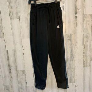 Men's Adidas lounge pants black track pants